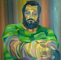 Autoportret-3-ulje-na-platnu-100-x-100cm-1987-godina