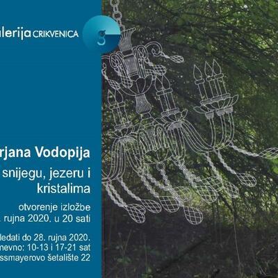 """Samostalna izložba Mirjane Vodopija """"Odrazi u snijegu, jezeru i kristalima"""""""