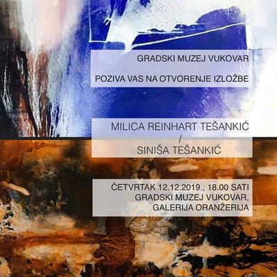 Izložba Milice Reinhart Tešankić i Siniše Tešankić