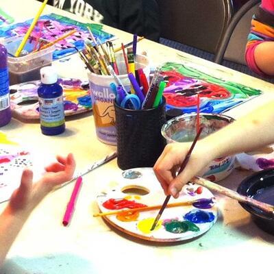 Djeca slikari