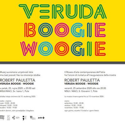 """Robert Pauletta: """"Veruda Boogie – Woogie"""""""