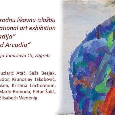 """Izložba umjetničkih djela: """"Novo otkrivena Arkadija"""""""