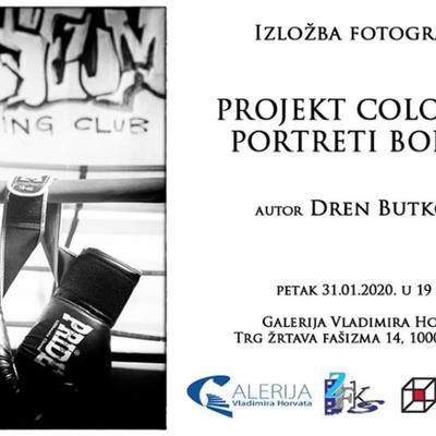 Izložba fotografija: Projekt Coloseum - Portreti boraca