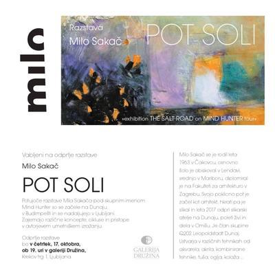 """Milo Sakač - izložba slika """"Put soli"""""""